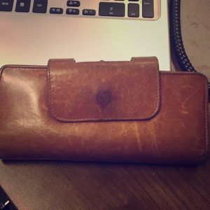 "Hobo ""Nancy"" wallet- well loved but good condition"